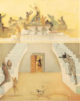 31. S. Dali, La Taverne de Lillas Pastia 1