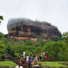 43. Sygiria au Sri Lanka (Ceylan à l'époque de Bizet), Le Rocher du Lion