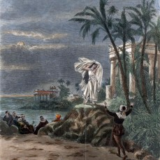 47. Bizet, Les Pêcheurs de perles, scène finale de l'Acte 1