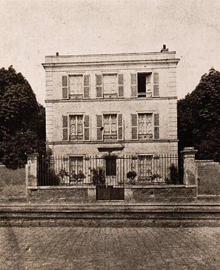 49. Georges Bizet, La Maison de Bougival vers 1900