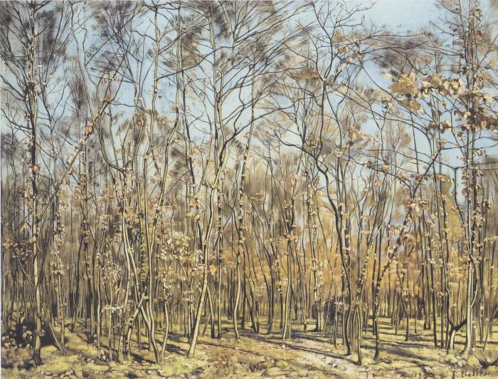 09. Hodler - Der Buchenwald - 1885