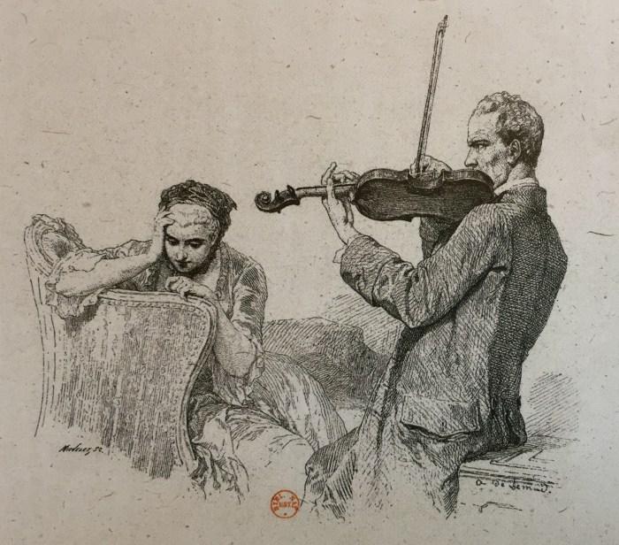 38. Aimé de Lemud, Le Violon de Crémone, s.d.