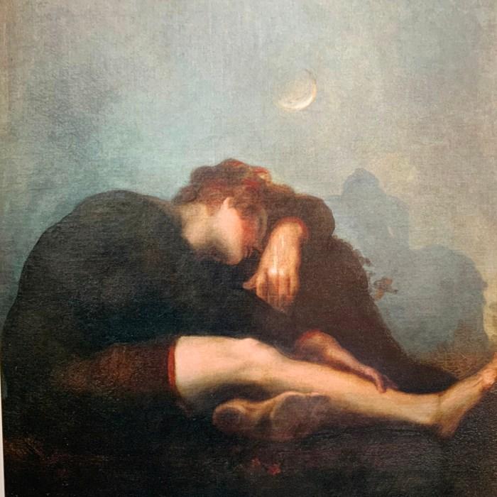 13b. Johann Heinrich Füssli, Solitude dans le crépuscule du matin, 1797