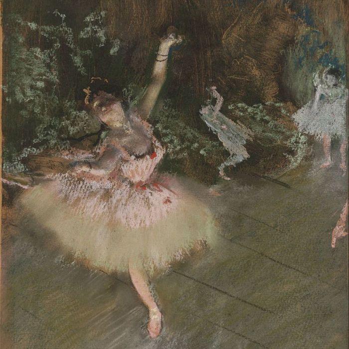 24a. Edgar Degas, La Danseuse étoile (1876-78)
