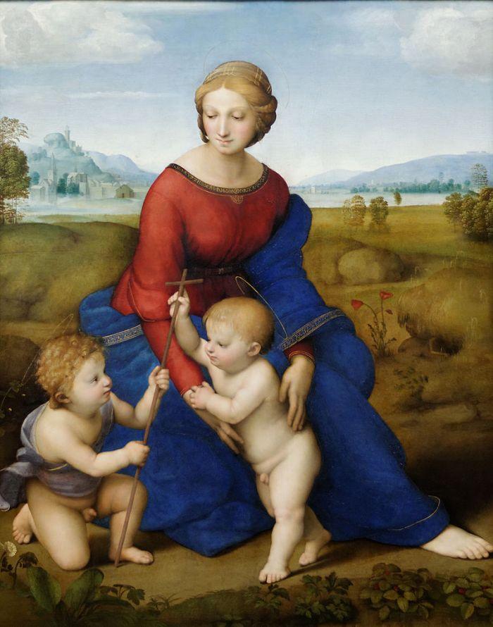 31a. Madonne à la Prairie, 1505