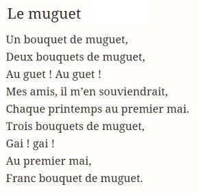 37c. Le muguet, texte de Robert Desnos (1900-1945)