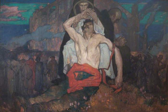 Brangwyn, Frank, 1867-1956; Mater Dolorosa Belgica