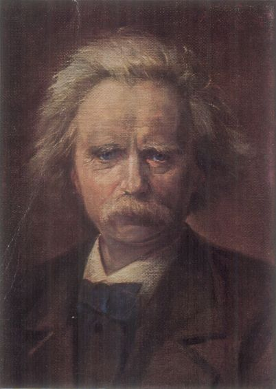 50b. Portrait d'Edvard Grieg par Kjell Eek