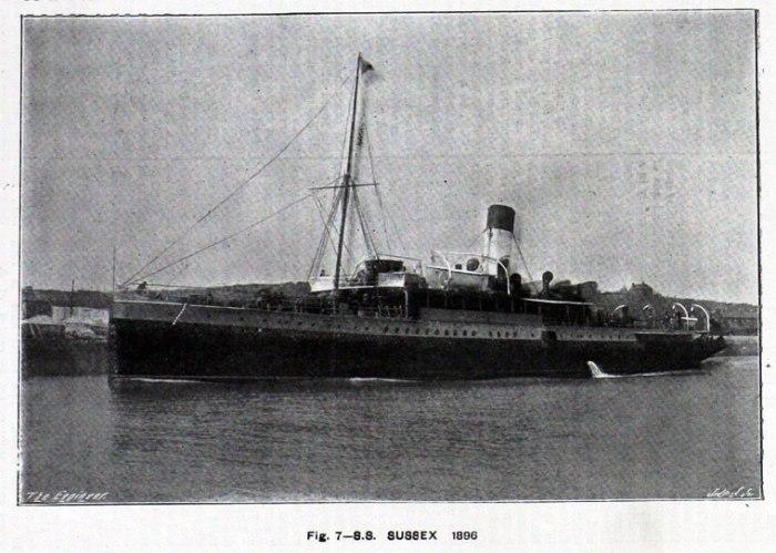 56. Le Sussex en 1896