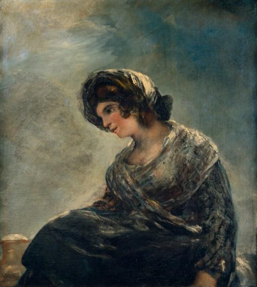 56b. F. de Goya, La lechera de Burdeos (La Laitière de Bordeaux), 1827.