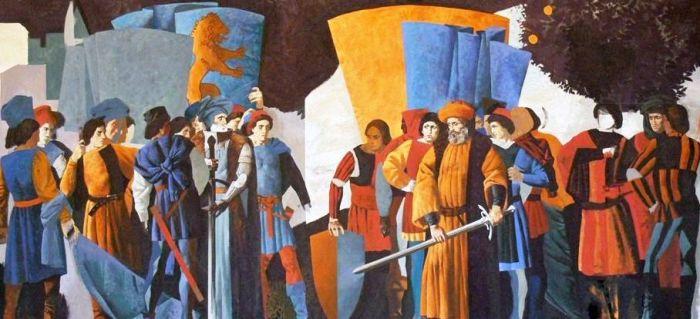 65d. Valentin Melik (né en 1984 à Moscou), Les Montaigu et les Capulet