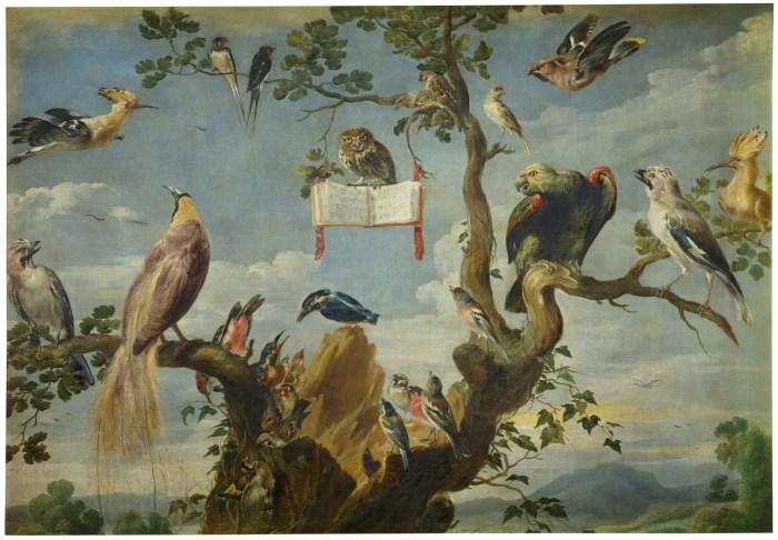 78b. Frans Snyders, Concert d'oiseau 2, 1630-1640