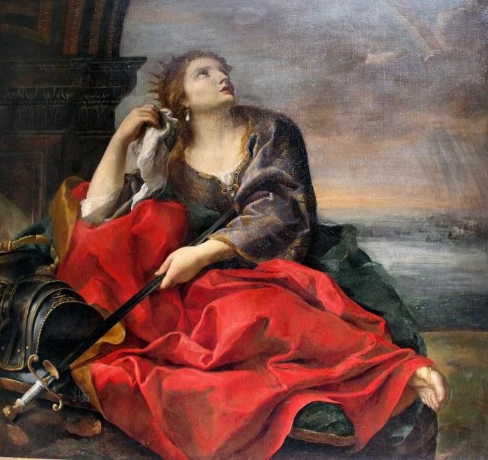 84a. Sacchi Andrea, La Mort de Didon, vers 1630-40.