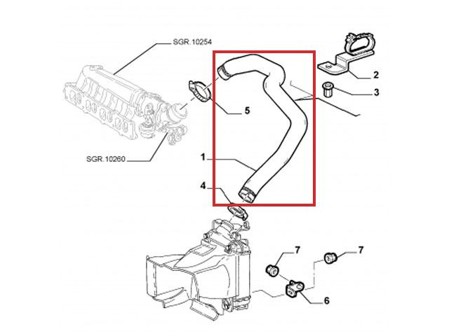 ALFA ROMEO 147 156 Saloon Sportwagon 1.9JTD JTD Turbo