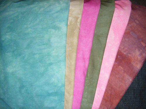 All 6 fabrics
