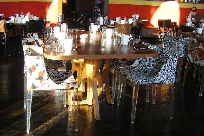 chairs at bfast