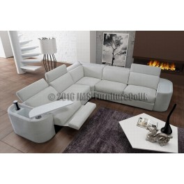 corner sofa bed recliner leather sofas uk milan with electric