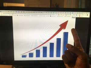 bar-graph-increasing-linkedin-b2b-lead-generation-sales