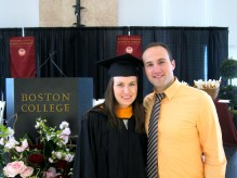 Mallory received her master's degree from Boston University