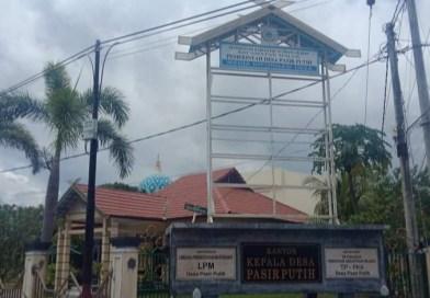 Pemdes Pasir Putih Tidak Pasang Baliho Informasi APBDes, BPD: Baliho Itu Hak Warga