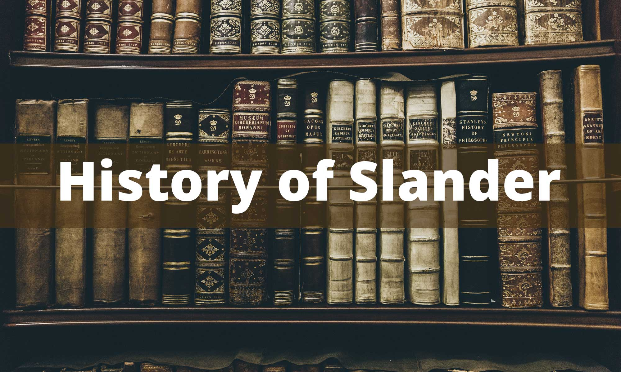 History of slander against Jung Myung Seok and Providence