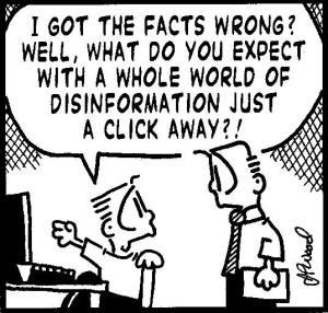 cartoon about unreliable sources