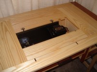 Sewing Machine Table | JMS Woodworking