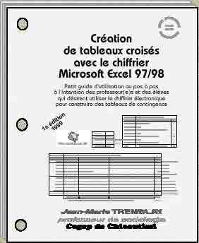 Jean-Marie Tremblay: Tableaux croisés avec le chiffrier