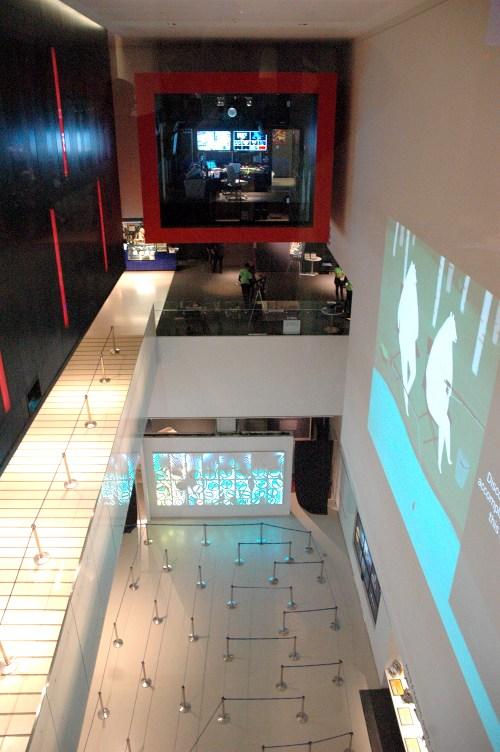 Interior del TIFF Bell Lightbox