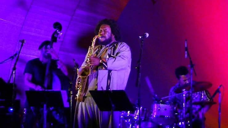 Kamasi Washington, by Monica Valentine CC. by NC 2.0