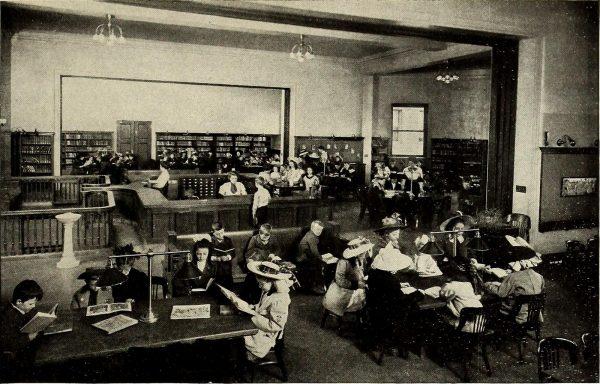Antecedentes de booktubers: jóvenes lectores. Fuente: Internet Archive Book Images CC by 3.0