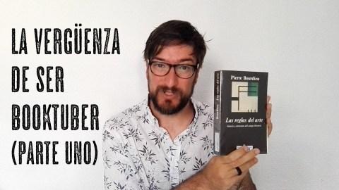 La vergüenza de ser booktuber, por José Miguel Tomasena, de Observatorio de booktube