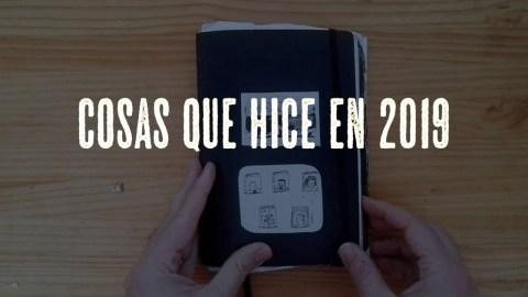 Bullet Journal de José Miguel Tomasena en 2019