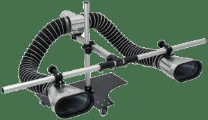 Adaptér pro dvojité výfuky