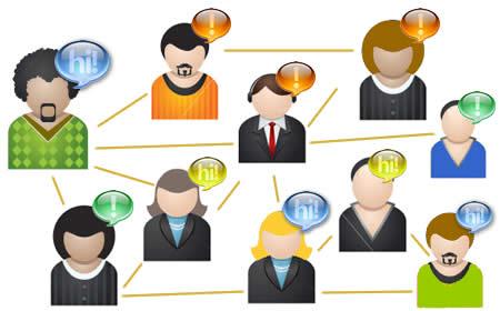 Perfil público em redes sociais