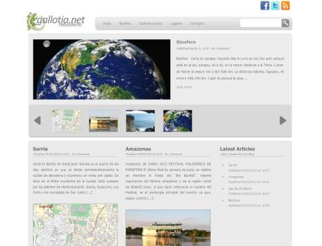 Gallotia.net, novo site by JMT