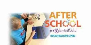 After School science workshop home page and social media banner.