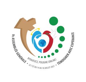 Logo de la 5e Assemblée Générale JMV