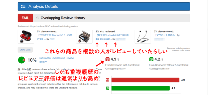 Overlapping Review History画像01