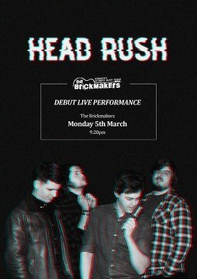 Head Rush Poster Example 3