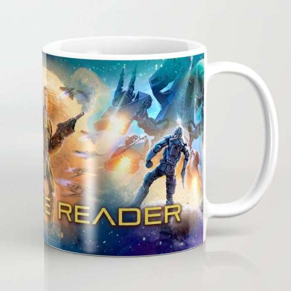 Renegade reader coffee mug