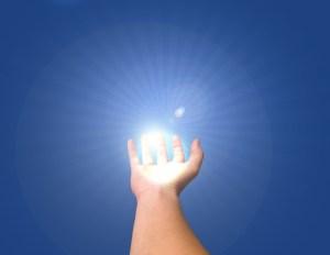 hand + light