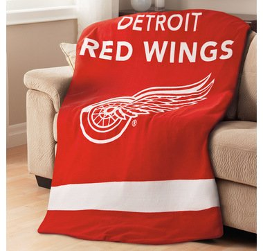 SOLD OUT NHL Team Detroit Red Wings Heated Blanket J ND K Inspiration Red Wings Throw Blanket