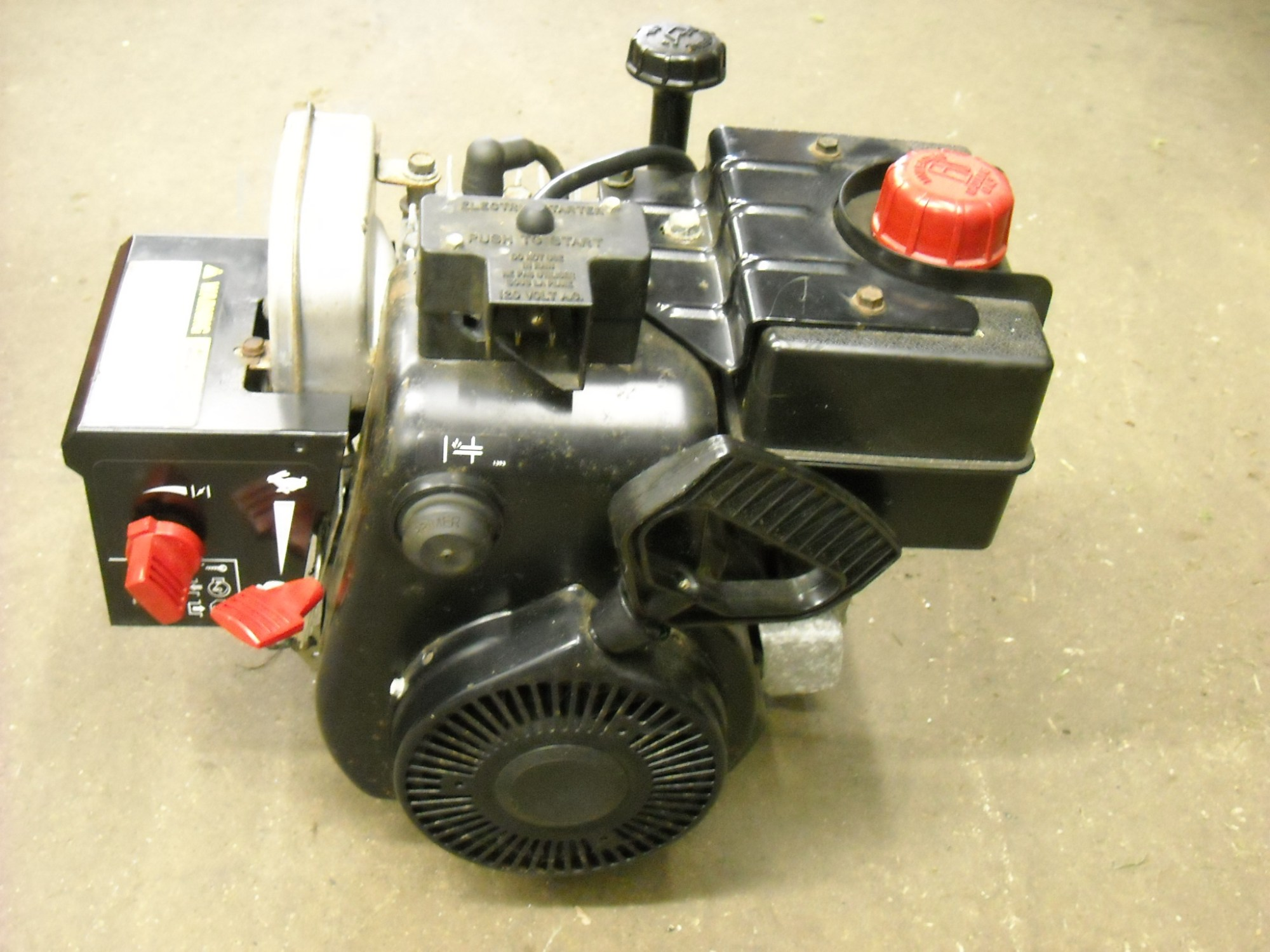 hight resolution of 5hp snowblower for sale used