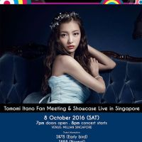 Tomomi Itano Is Coming To Singapore!