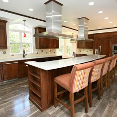 Cherry Wood Kitchen Island Natural Maple Cabinets Photos Project Gallery | J. Neville Construction, Inc.