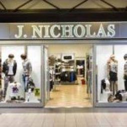 J.Nicholas abbigliamento Reggio Emilia centro commerciale Meridiana