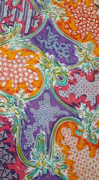 Ragam Hias Abstrak : ragam, abstrak, Batik, Tulis, Abstrak