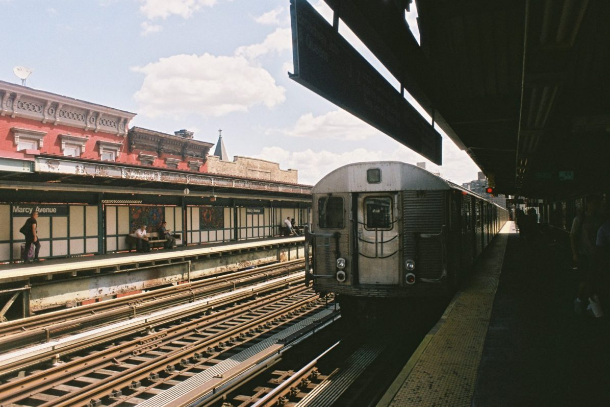 New-York subway, Marcia Avenue, Brooklyn, New-York
