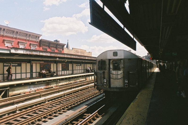 New-York subway, Marcia Avenue, Brooklyn, New-York